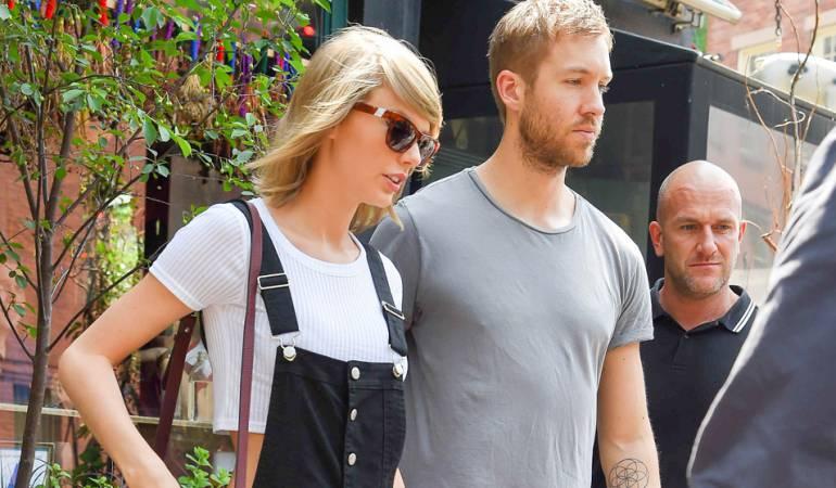 Calvin Harris pelea con Taylor Swift en Twitter por créditos de la canción 'This Is What You Came For': Calvin Harris y Taylor Swift: pelea de exnovios por créditos de una canción