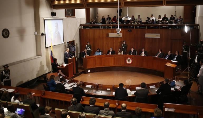 Plebiscito: Corte Constitucional aplazó para el 18 de julio discusión sobre el Plebiscito