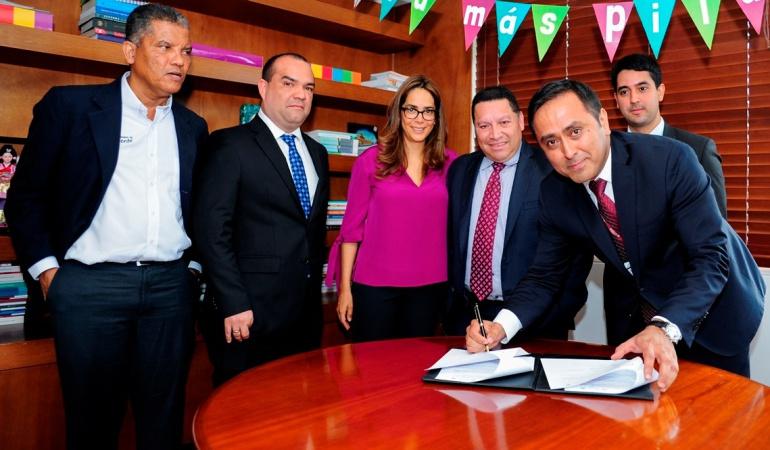Acuerdo de Voluntades para infraestructura educativa: Ministra de Educación y alcalde de Cartagena suscriben Acuerdo de Voluntades