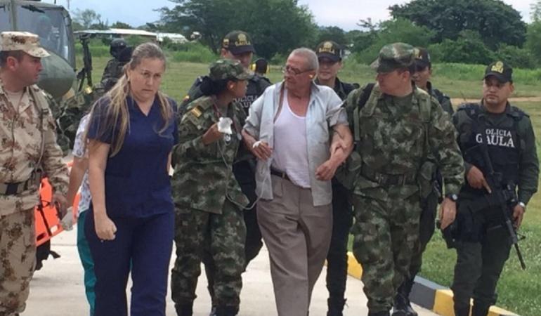 Luis Zárate se le escapó al Eln: Luis Zárate se le escapó al Eln desde el día que lo secuestraron
