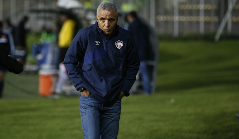Alexis Mendoza renuncia a Junior de Barranquilla: Alexis Mendoza renuncia a la dirección técnica del Junior