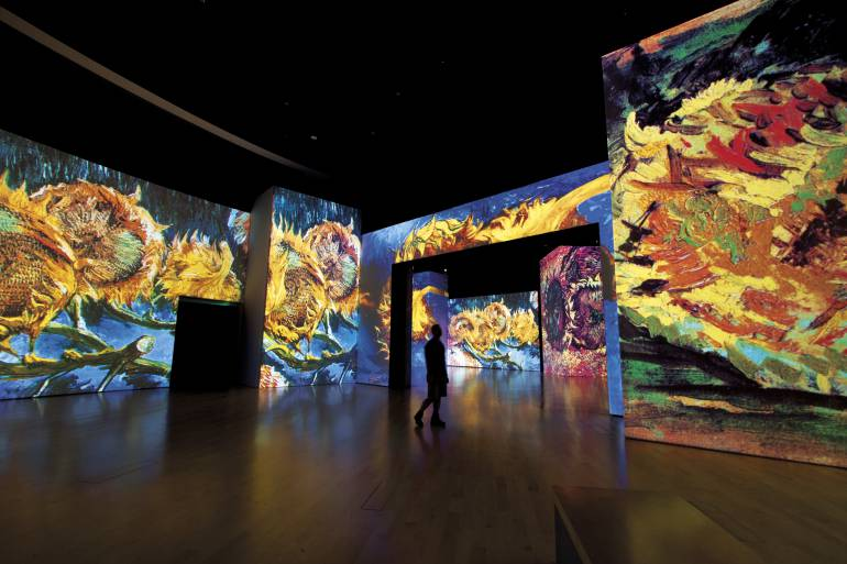 Van Gogh Alive llega a Bogotá con la revolucionaria tecnología Sensory 4