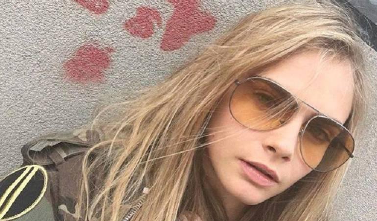 Cara Delevingne, de 23 años, es una reconocida modelo británica.