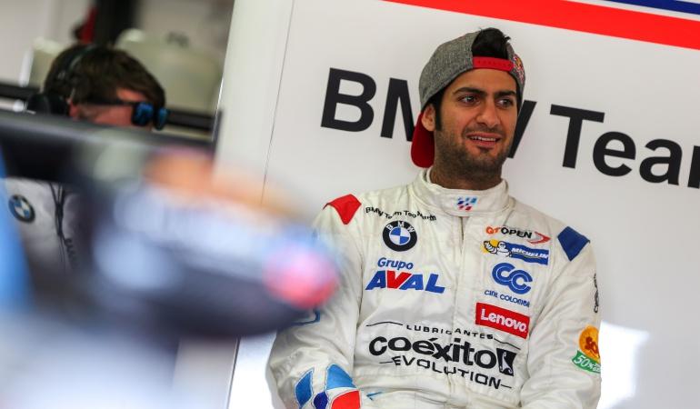 Gustavo Yacamán: Gustavo Yacamán logra podio en la International GT Open