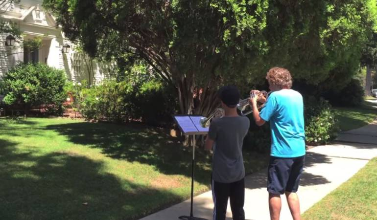 Canci n de star wars de john williams video j venes for Cancion en el jardin