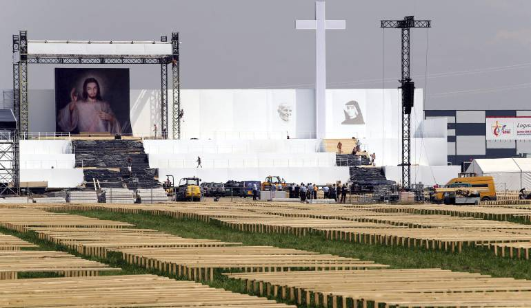 Alerta por hombre que portaba explosivos en Polonia, previo a la llegada del papa Francisco: Detenido un iraquí con explosivos en Polonia antes del comienzo de la JMJ