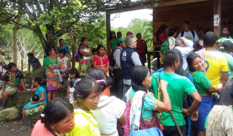 Corte Constitucional lanzó SOS por desplazamiento forzado en Urabá