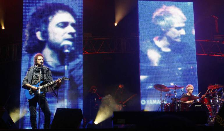 Soda Stéreo estuvo en Colombia en el año 2007.