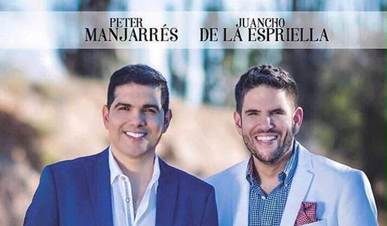 Peter Manjarrés y Juancho de la Espriella vuelven a trabajr juntos: Peter Manjarrés y Juancho De la Espriella, de nuevo juntos