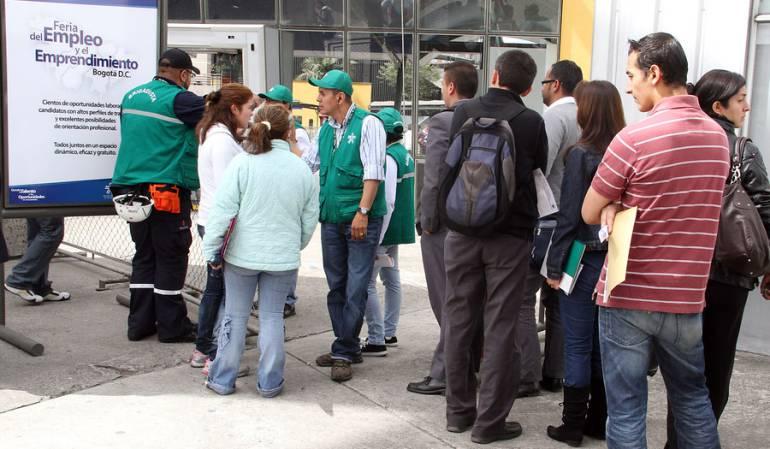 Sube desempleo en Colombia: Desempleo en junio subió a 8.9 por ciento: Dane