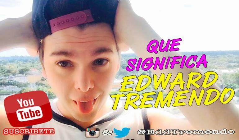 'Edward tremendo': el youtuber revela que tiene cáncer: 'Edward tremendo', el youtuber que le dará la batalla al cáncer