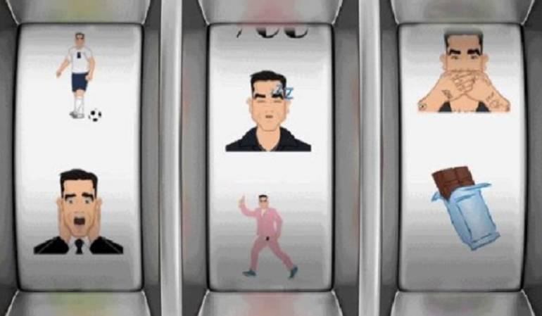 Emoticones Robbie Williams: Robbie Williams lanza sus propios emojis