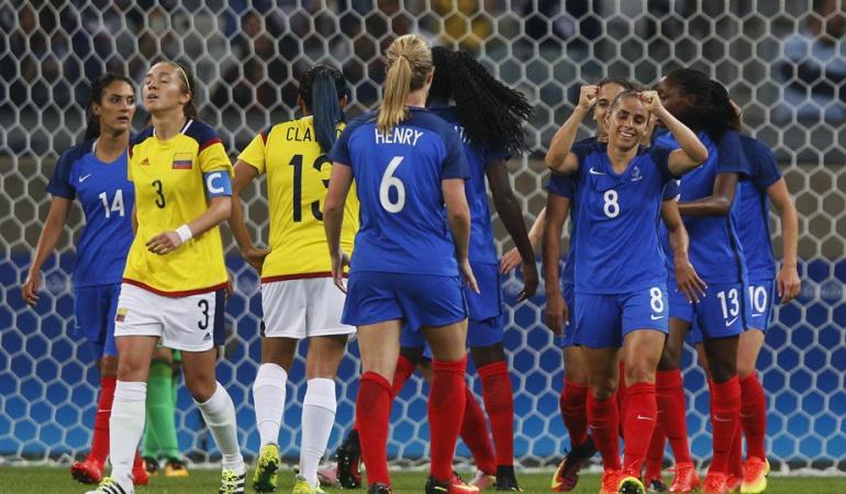 Colombia Francia fútbol femenino Juegos Olímpicos: Selección femenina sufre dolorosa caída ante Francia en su debut en Río