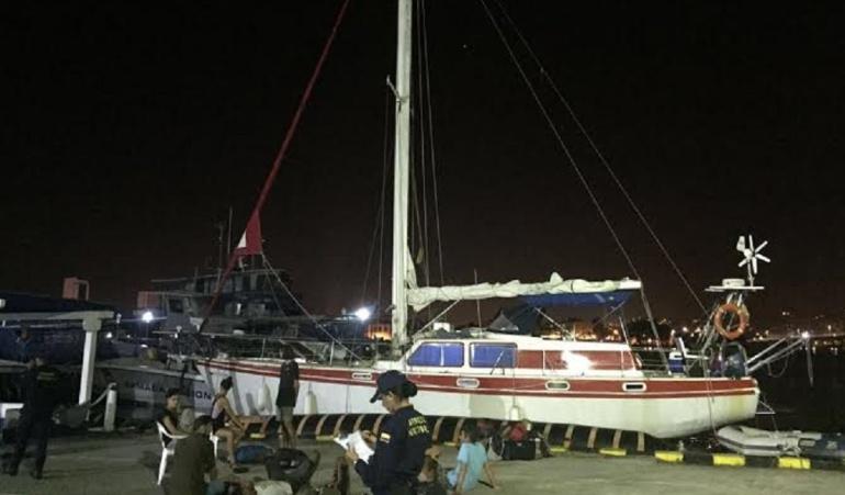 Cocaína en Cartagena: La cocaína que escondían en un velero europeo en Cartagena
