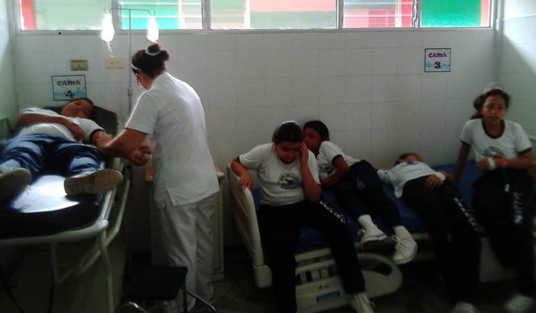 13 estudiantes de bachillerato resultaron intoxicados en Arcabuco, Boyacá: 13 estudiantes de bachillerato resultaron intoxicados en Arcabuco, Boyacá