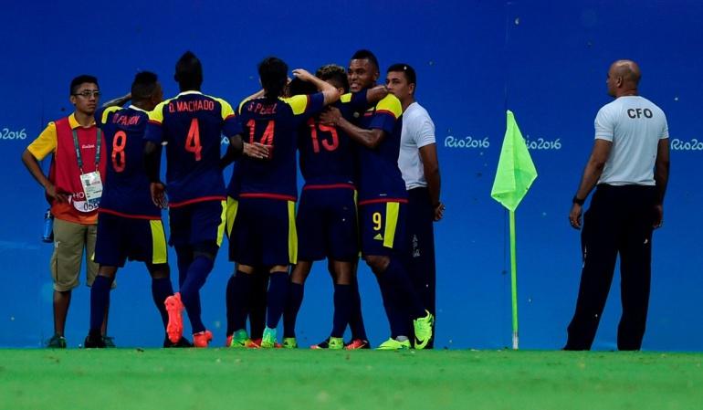 Colombia Suecia Juegos Olímpicos Río de Janeiro: Colombia empató con Suecia en el inicio de su sueño olímpico