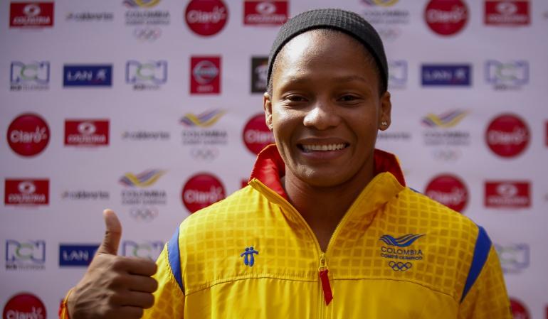 Yuri Alvear abandera Colombia Río 2016: Yuri Alvear será la abandera de Colombia en Río 2016