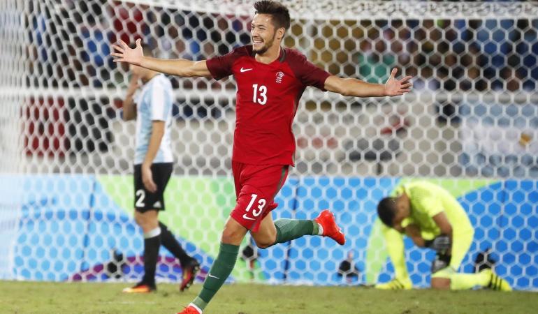 Portugal 2-0 Argentina Juegos Olímpicos: Portugal venció 2-0 a Argentina en su debut en el fútbol olímpico