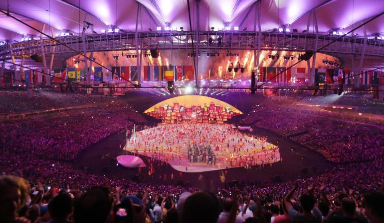 En Vivo Ceremonia de inauguración Juegos Olímpicos: ¡Se enciende el pebetero, a manos de Vanderlei de Lima!