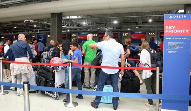 Delta Airlines fallo mundial: Delta Airlines afirma que fue un corte de luz lo que provocó el fallo mundial