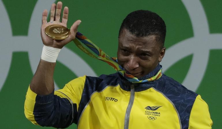 Óscar Figueroa Río 2016 Medalla de Oro: Óscar Figueroa, oro para Colombia en los 62 kilos