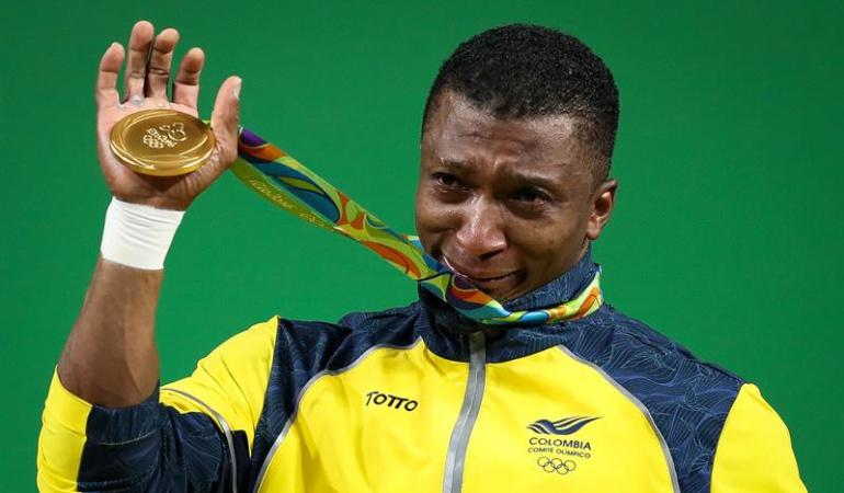 Óscar Figueroa Río 2016 Medalla de Oro: Colombia ya suma tres medallas de oro en la historia de los Juegos Olímpicos