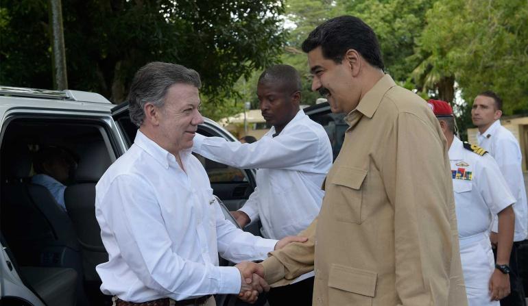 reapertura frontera Colombia Venezuela: Vamos a abrir la frontera de forma controlada y gradual: Santos