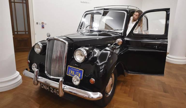 "Subasta carro John Lennon: Subastan el coche utilizado por John Lennon para promocionar ""Imagine"""