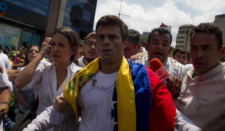 Oposición en Venezuela: Ratifican condena de casi 14 años contra Leopoldo López