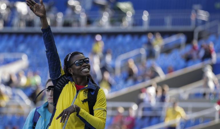 Caterine Ibargüen salto triple Colombia Juegos Olímpícos: Caterine Ibargüen, a un salto de un nuevo oro olímpico para Colombia