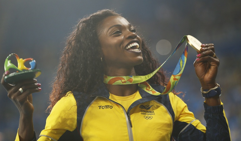 Caterine Ibargüen logra Oro en Río 2016: Caterine recibió el oro y se consolidó como la reina del Salto Triple