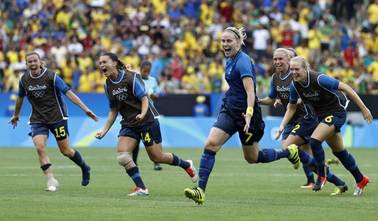 RÍO 2016 FÚTBOL BRASIL SUECIA: 'Maracanazo femenino', Suecia elimina a Brasil y sueña con el oro olímpico