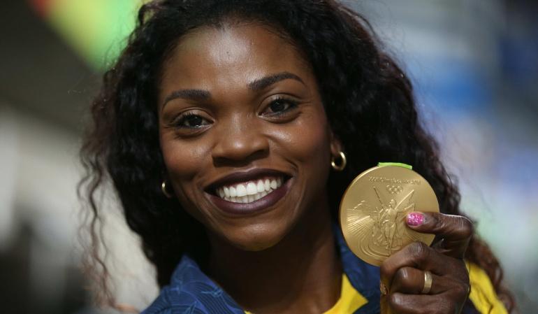 Caterine Ibargüen Juegos Olímpicos: Caterine no piensa en el retiro y sueña con romper el récord mundial
