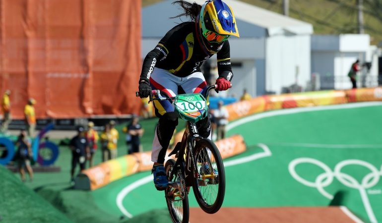 Mariana Pajón Río 2016 final Juegos Olímpicos BMX: Mariana Pajón sueña con un nuevo oro olímpico