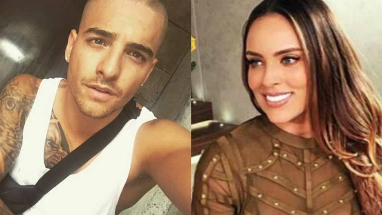 Sara Corrales le roba un beso a Maluma: [Video] Sara Corrales le roba un beso a Maluma