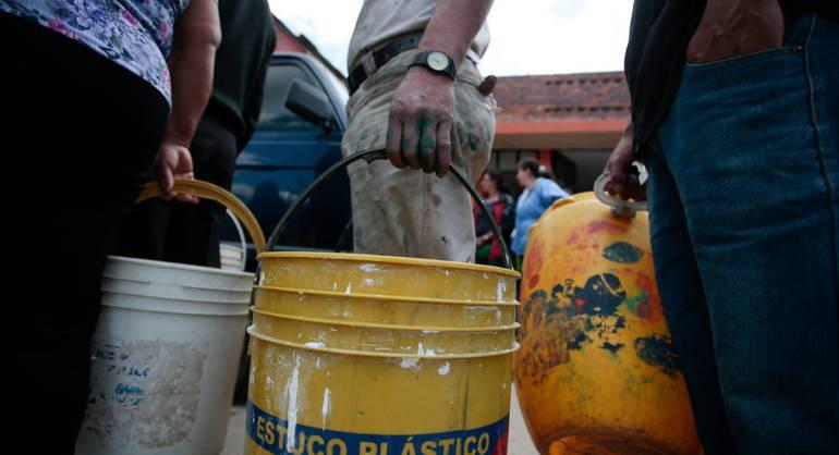 Municipio de Boyacá no reciben agua: En Tibasosa, Boyacá 300 familias que habitan la zona rural del municipio no reciben agua