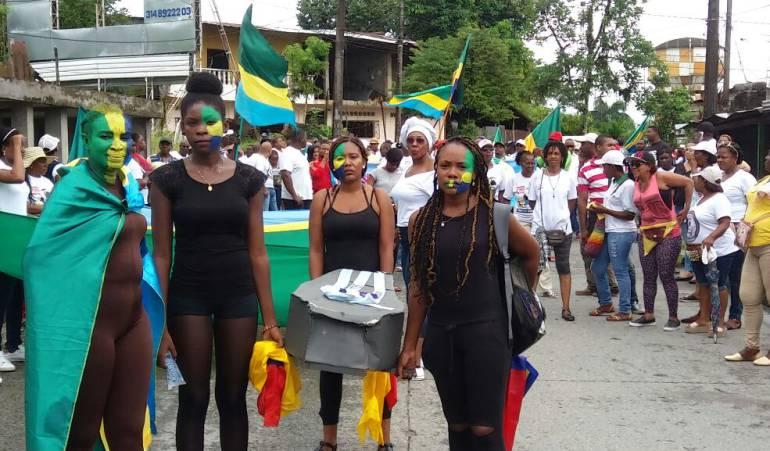 """Paro cívico en Chocó: Chocó: """"somos pacífico, estamos unidos"""""""