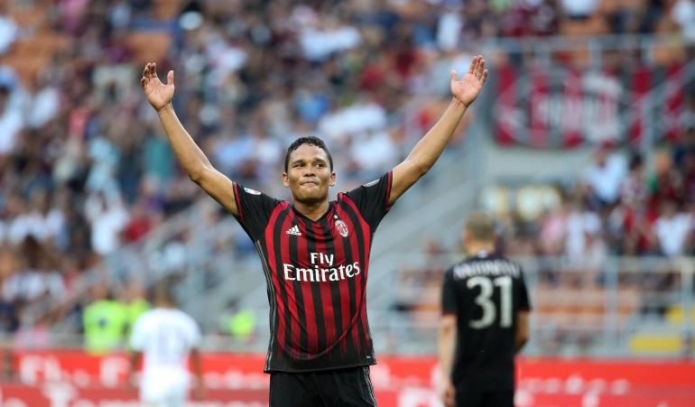 Carlos Bacca West Ham: Milan rechaza una nueva oferta del West Ham por Bacca