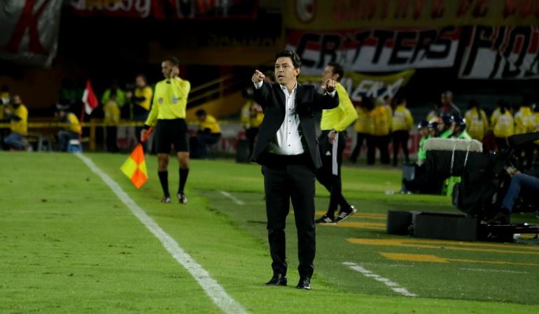 River Plate Independiente Santa Fe Recopa: Acá va a ser diferente, apostamos a ganar esta Recopa: Gallardo