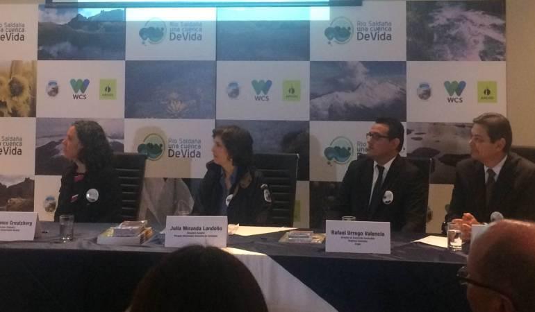 conservación río Saldaña: Se formaliza alianza público privada para la conservación de la cuenca del río Saldaña