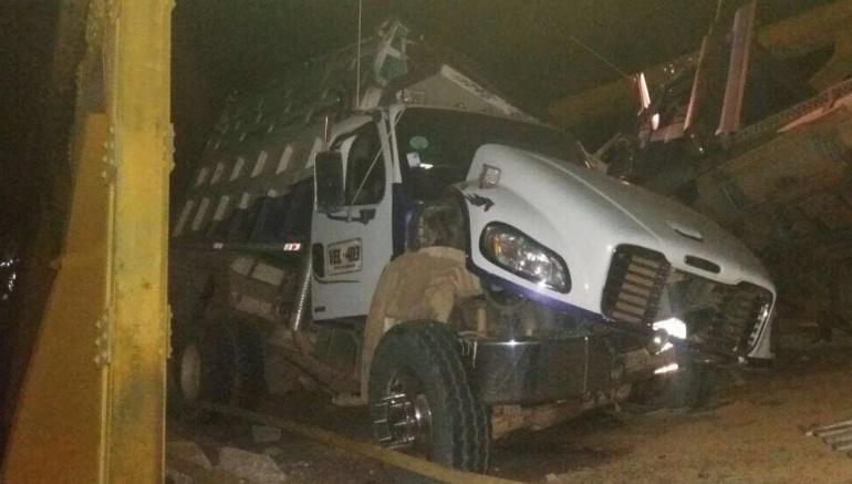 Colapso de Puente: Colapsó puente El Charte en Casanare