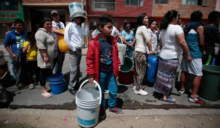 falta de agua en Villavicencio: Decretan calamidad pública en Villavicencio por falta de agua