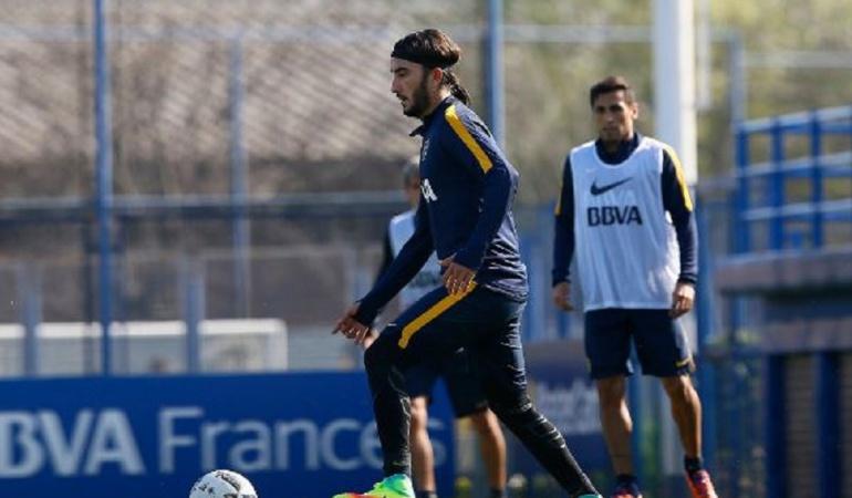 Sebastián Pérez Boca Juniors: Pérez xeneize: El volante de la Selección ya entrena con Boca Juniors