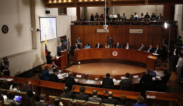 Plebiscito por la paz: Admiten primera demanda contra el acto legislativo para la paz