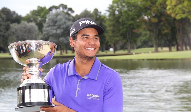 El golfista Juan Sebastián Muñoz obtiene tarjeta PGA Tour