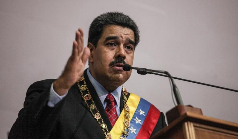 Maduro amenaza con prisión a opositores si hay violencia en marcha en Caracas