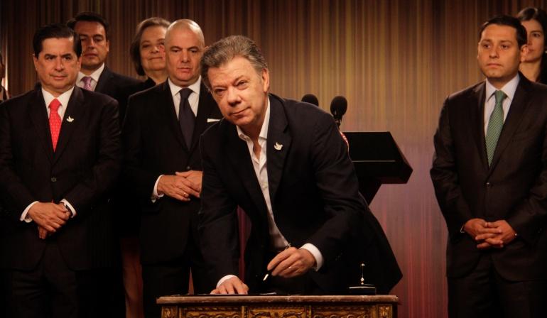 Plebiscito por la paz: Gobierno rechaza críticas a la pregunta del plebiscito