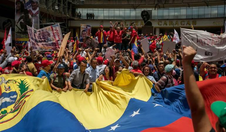 Venezuela pide a Colombia cooperación para capturar a supuestos opositores golpistas