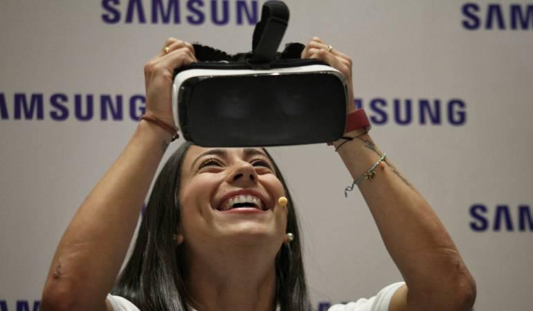 Mariana Pajón será la protagonista de un videojuego: Mariana Pajón es la protagonista del primer videojuego de BMX de realidad virtual