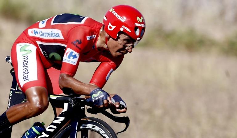 Froome voló buenas piernas Nairo Quintana: Froome voló, pero tengo buenas piernas y buen equipo para defender: Nairo